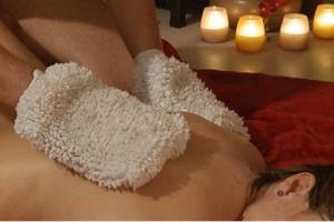 Massagehandschoene